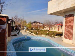ویلا سند تکبرگ در تهران ویلا