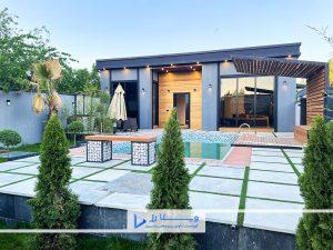 باغ ویلای 500 متری مدرن شهرکی در تهراندشت
