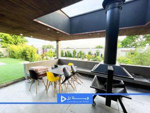 باغ ویلای 1000 متری شهرکی مدرن در سرخاب