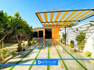 ویلای شهرکی مدرن نوساز در سرخاب با انشعابات آب ، برق و گاز