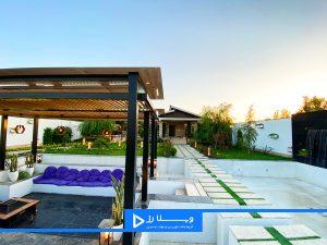 خرید باغ ویلای بزرگ 1250 متری سرسبز در تهراندشت